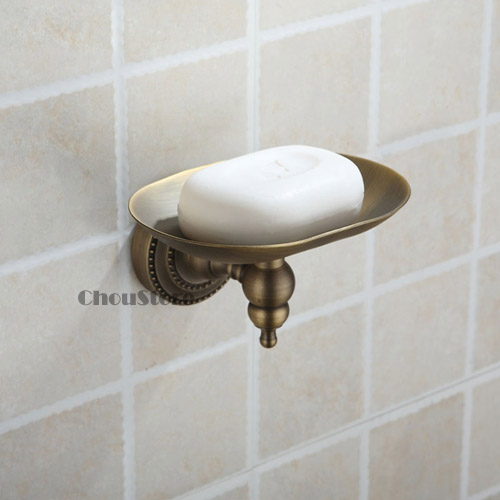 Brand New Antique Bronze Bathroom Soap Dish Wall Mount