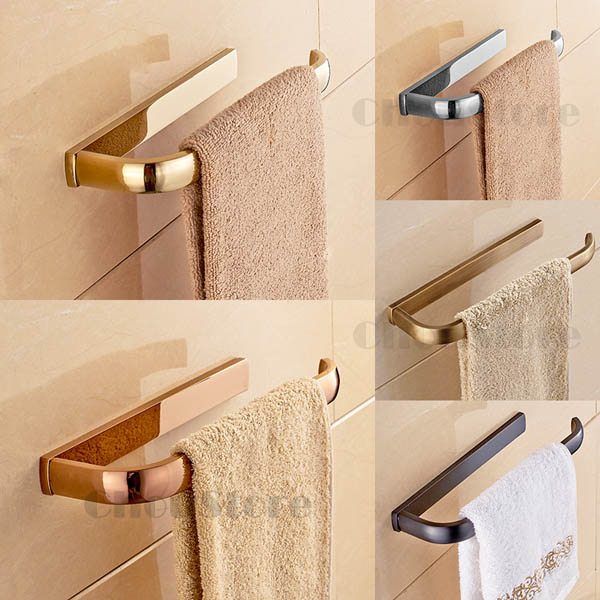 Enjoyable Bathroom Wall Mounted Brass Towel Rack Hand Towel Ring Download Free Architecture Designs Osuribritishbridgeorg